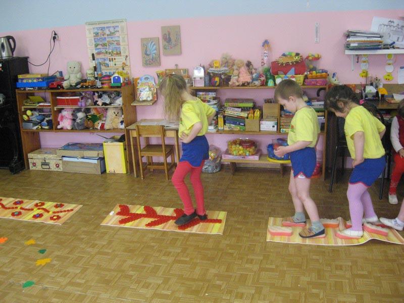 Оборудование для закаливания в детском саду